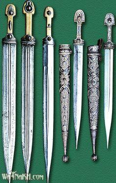 Chechnya, weapons, daggers
