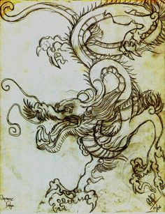 SCROLL OF THE JAPANESE DRAGON by ~PIMI1023