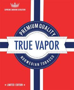 E-juice - Norwegian Tobacco - Premium Quality http://www.minecigg.se
