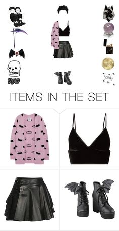 """""""spooky"""" by crycriis ❤ liked on Polyvore featuring art"""