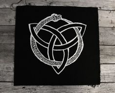Triquetra Ouroboros Back Patch