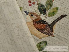 bird applique | Bird applique