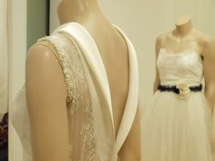 Hand made Silk and lace bridal dresses from atelier Konstantinos Tsigaros.