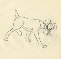 Disney LADY AND THE TRAMP Woolie Reitherman Scene Animation Drawing, TRAMP Enters Nursery, 1955 ★ || CHARACTER DESIGN REFERENCES (https://www.facebook.com/CharacterDesignReferences & https://pinterest.com/characterdesigh) • Love Character Design? Join the #CDChallenge (link→ https://www.facebook.com/groups/CharacterDesignChallenge) Share your unique vision of a theme every month, promote your art in a community of over 25.000 artists! || ★