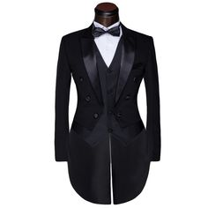 a9542c6c3f6 Male Custom Groom Prom Suit 2015 Mens Tuxedo Black And White Wedding Suits For  Men Suits