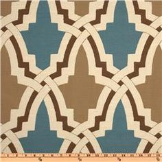 Fabric for powder room roman shade