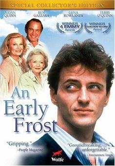 An Early Frost (1985) Poster; Aidan Quinn, Ben Gazarra, AIDS, gay men, Emmy,