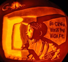 Coraline | Community Post: 18 Literary Pumpkins For A Bookish Halloween