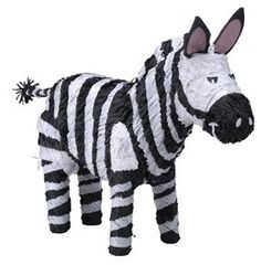 Our Zebra Pinata is perfect for a safari animal theme party. Show your wild side with this fun Zebra pinata! Zebra Party, Safari Party, Jungle Party, Safari Theme, Jungle Safari, Animal Themed Birthday Party, Zebra Birthday, Safari Birthday Party, Birthday Ideas