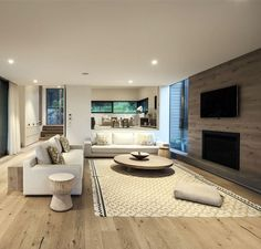 Contemporary Residence by Jam Architecture contemporary residence living room decor
