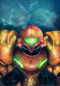Samus Aran Created byMishel Samiri-Robinadeh #Metroid #Nintendo
