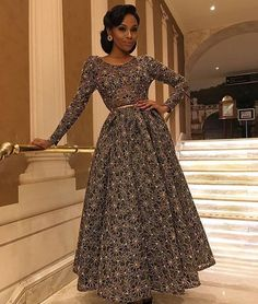 Look of the Week featuring Kerry Washington, Cara Delevingne, Bonang Matheba And More! African Attire, African Dress, Wedding Guest Style, Wedding Styles, Dresses To Wear To A Wedding, Engagement Dresses, Red Carpet Dresses, African Fashion, African Beauty