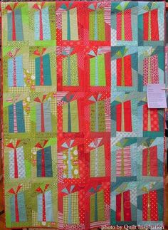 Twelve days of Christmas Quilts: Simple Gifts