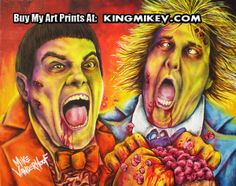 Zombie Dumb and Dumber by: Mike Vanderhoof www.kingmikev.com