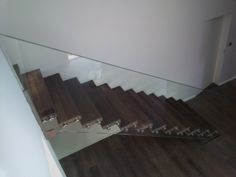 Skystep Staircases   trescalini Straight Stairs, Glass Balustrade, Magnetic Knife Strip, Knife Block, Staircases, Wood, Google, Home Decor, Decoration Home