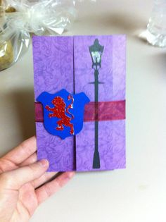 Narnia fairy tale book story wedding or party inviatation