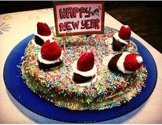 new year cake !