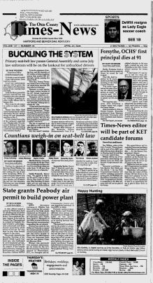 The Ohio County Times-News - Google News Archive Search