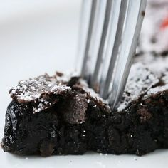 Swedish Sticky Chocolate Cake (Kladdkaka ) by Tasty