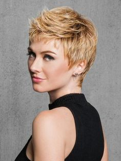 Textured Cut can be worn soft and casual by finger styling, or more textured and modern