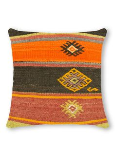 Hand-Knotted Kilim Pillow