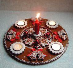 Sugar Art, Xmas, Christmas, Gingerbread Cookies, Birthday Candles, Menu, Food, Christmas Biscuits, Porta Velas