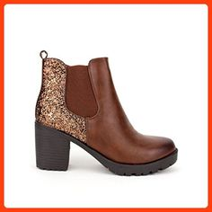 Cendriyon, Damen Stiefel   Stiefeletten , braun - braun - Größe  36 EU   Amazon.de  Schuhe   Handtaschen c80b9b1b14