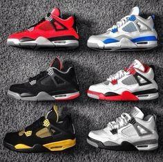 big sale 29f5d 622a5 Blue Jordans, Nike Air Jordans, Jordans Sneakers, Retro Sneakers, Jordan 4  White