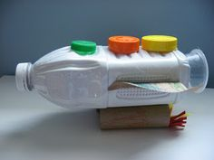 Recycled Rocket Craft and Rocket Counting Song - No Time For Flash Cards