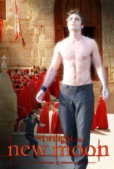 New Moon (Tentation) Edward Bella, Edward Cullen, Twilight Series, Twilight Movie, Series Movies, Book Series, The Cullen, Twilight Pictures, Strong Love
