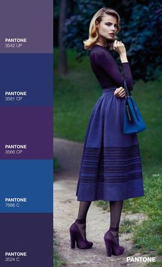 ULTRA VIOLET - Pantone 2018 - Fashion color inspiration #ultraviolet