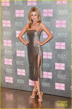 Miley Cyrus' Girlfriend Stella Maxwell Launches New 'Victoria's Secret' Bra Collection in London
