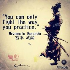 Fight the way you practice #martialarts