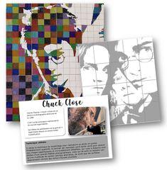 Chuck Close Art, École Harry Potter, Harry Potter School, Ecole Art, 3 Arts, Art Plastique, Teaching Art, Art School, Oeuvre D'art