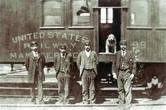 "From 1888 until his death in 1897, ""Owney"" the dog rode with Railway Mail Service clerks and mailbags all across the nation"