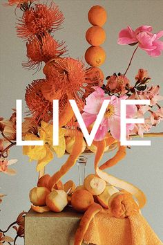 London Flower School is going live! Join us for a series of live floristry demonstrations from 5 May! Book your place now. Flora Design, Flower Bomb, 3 Things, Creative Director, Outdoor Gardens, Artsy, Amalfi, School, Puerto Rico