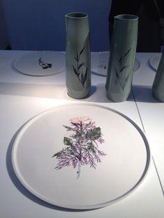 t.e. Withering Tableware by Studio Maarten Kolk & Guus Kusters - Rossana Orlandi Milan 2014