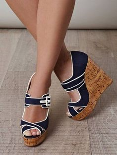 Amazing with this fashion pumps! get it for 2016 Fashion Christian Louboutin Pumps for you! Dream Shoes, Crazy Shoes, Cute Shoes, Me Too Shoes, Mode Adidas, Louboutin Wedges, Summer Wedges, Christian Louboutin Shoes, Beautiful Shoes
