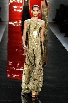 Reem Acra - Runway - Fall 2012 Mercedes-Benz Fashion Week