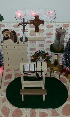 Miniature altar