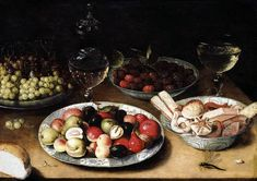 Osias Beert (I) - Still-Life of Fruit - WGA1570.jpg - By Osias Beert (I)(circa 1580–1623) - Web Gallery of Art:   Image  Info about artwork, Public Domain, https://commons.wikimedia.org/w/index.php?curid=15384080