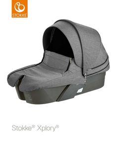 #Nacelle noir mélange de la collection #Xplory de chez #Stokke qui s'adapte sur la poussette Xplory qui est vendu séparément ... #nacellexplorynoirmélange #nacellestokke #