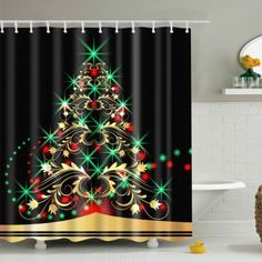 SHARE & Get it FREE | Christmas Xmas Tree Fabric Waterproof Bath Shower CurtainFor Fashion Lovers only:80,000+ Items·FREE SHIPPING Join Dresslily: Get YOUR $50 NOW!