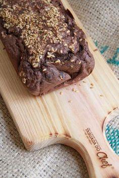 Loveat: Pão de aveia e alfarroba sem glúten