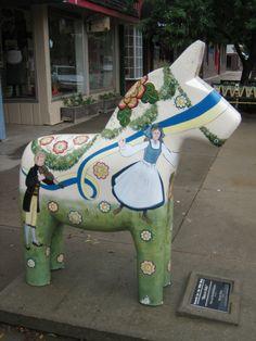Fjord Horse, Scandi Christmas, Sweden Travel, Wooden Horse, Malm, Public Art, Art World, Lindsborg Ks, Folk Art