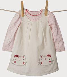 Emily Kiddy: BHS - Baby Girls Cat Layette Range