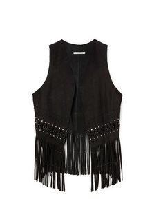 This suede Rebecca Minkoff vest is our must-have fall item.