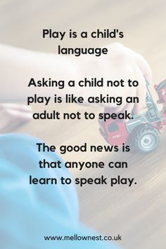 Play is a fundamental part of raising calm, connected and happy children. Parenting Issues, Kids And Parenting, Parenting Hacks, Happy Children, Happy Parents, Play Quotes, Quotes For Kids, Kids Blocks, Let Them Be Little