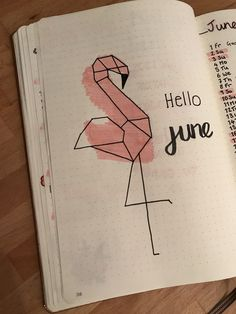 June title page Bullet journal layout ideas Juni-Titelseite Bullet Journal Layout-Ideen Bullet Journal School, Bullet Journal Titles, Bullet Journal Month, Bullet Journal Aesthetic, Bullet Journal Notebook, Bullet Journal Spread, Bullet Journal Ideas Handwriting, Bullet Journal Savings, Bullet Journal Banner