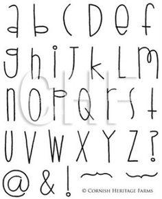 font by TinyCarmen